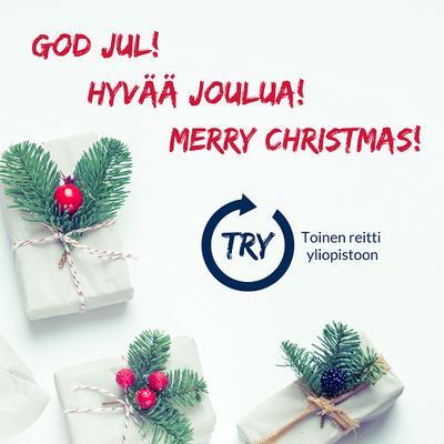 TRY-hankkeen jouluntoivotus