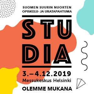 Tutustu avoimen väylään Studiassa 3.–4.12.