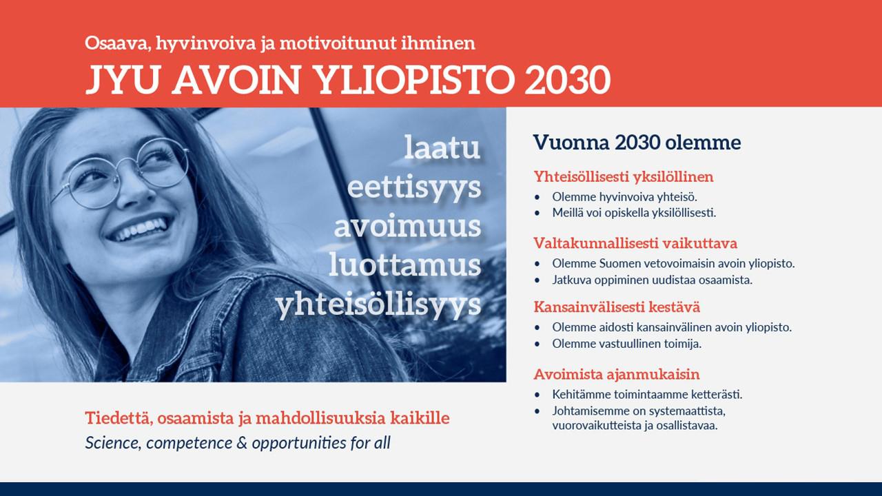 Avoimen yliopiston visio 2030