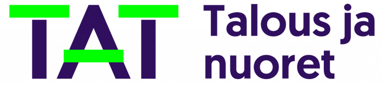 Talous ja nuoret TAT -logo