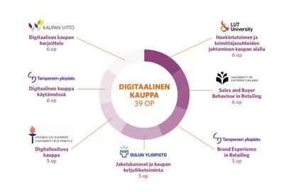 Digitaalinen kauppa: Opintokokonaisuus viiden yliopiston yhteistyönä