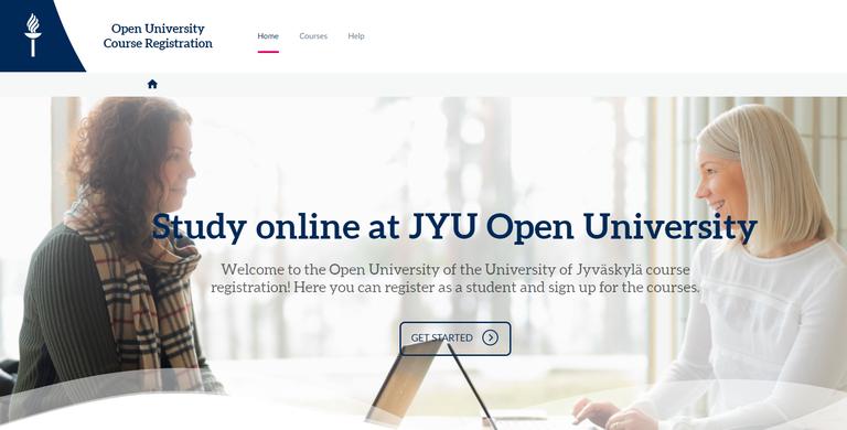 JYU registration portal